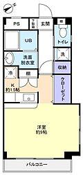 ソエダマンション弐番館[3階]の間取り