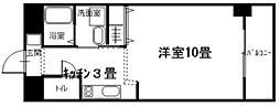 広島県呉市広末広1丁目の賃貸マンションの間取り