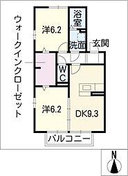 プレミアム プラス[2階]の間取り