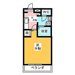 アヴィニヨン[2階]の間取り