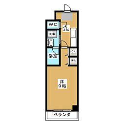 ロイヤルグランデ[2階]の間取り