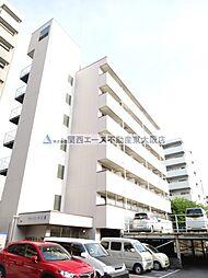 大阪府東大阪市中新開2の賃貸マンションの外観