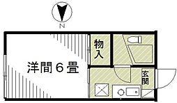 コーポティ(Corporation)[2階]の間取り