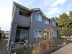 千葉県八街市大関の賃貸アパートの外観