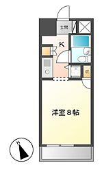 コンフォルト鶴舞[2階]の間取り