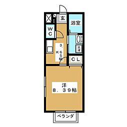第10アーバンハイツ[1階]の間取り