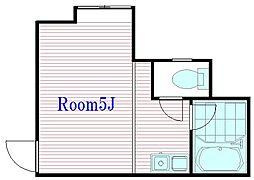 メゾンギュースI[2階]の間取り