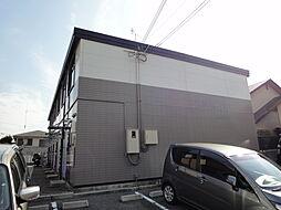 兵庫県神戸市北区上津台3丁目の賃貸アパートの外観