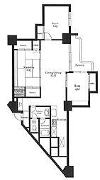 東十条マンション[5階]の間取り