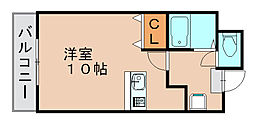 エスタシオン博多[4階]の間取り