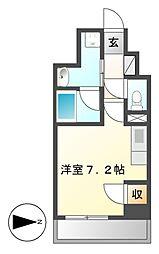 スクエア・アパートメント[11階]の間取り