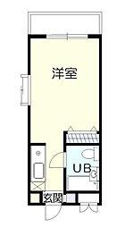 ジュネパレス新松戸第18[2階]の間取り