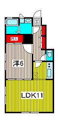 CHARADEII[1階]の間取り