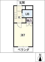 LORM K−2[4階]の間取り