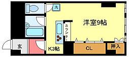 ヤマウラ77ビル[702号室]の間取り