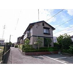 福岡県久留米市朝妻町の賃貸アパートの外観