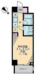ハーモニーコート西鶴間[0601号室]の間取り