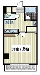 ヨシザワプラザビル[4階]の間取り