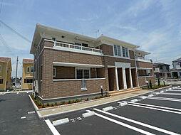 兵庫県加古郡播磨町東本荘3丁目の賃貸アパートの外観