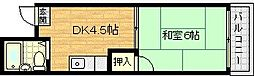 富士ホップワン[4階]の間取り