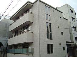 東京都文京区本駒込4丁目の賃貸マンションの外観