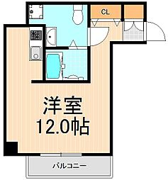 PALAZZO秀亜[6階]の間取り