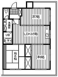 第7池田マンション[403号室]の間取り