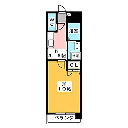 レジデンス吉野[3階]の間取り