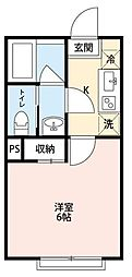 フォルビテッツァ松ヶ丘[2階]の間取り
