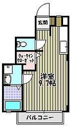 フリーダム[1階]の間取り