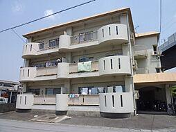 福岡県久留米市白山町の賃貸マンションの外観