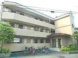 岡山県倉敷市徳芳の賃貸マンションの外観
