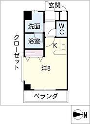 C2 SQUARE[3階]の間取り