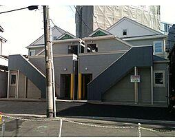 神奈川県横浜市鶴見区本町通1丁目の賃貸アパートの外観