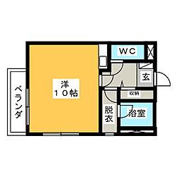 アートヒルズ妙興寺II[1階]の間取り