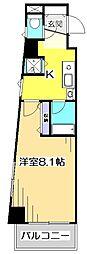 第7千代鶴ビル[6階]の間取り