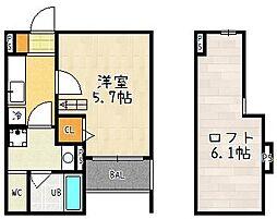 桃山南口駅 5.4万円