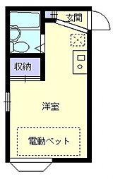エマーユ久喜2[201号室号室]の間取り