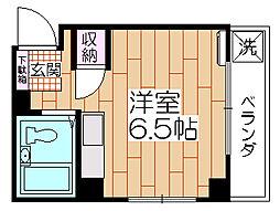 相澤ビル[402号室]の間取り