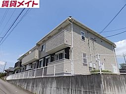 三重県亀山市川崎町の賃貸アパートの外観