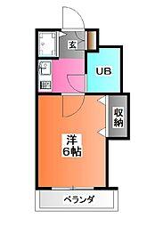 ライオンズマンション赤羽第3[2階]の間取り