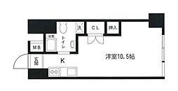 東横藤棚マキレジデンス[7階]の間取り