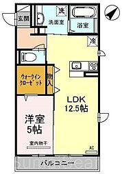 パラッツォ伏尾[3階]の間取り