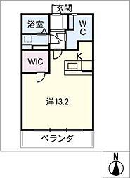 広瀬第二ビル[1階]の間取り