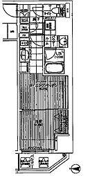 ファーストステージ東梅田[4階]の間取り
