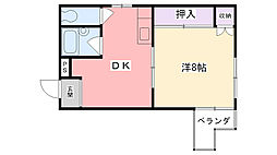 マルニ甲子園[101号室]の間取り