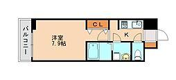 西鉄天神大牟田線 春日原駅 徒歩27分の賃貸アパート 3階1Kの間取り