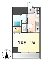 プロビデンス金山[9階]の間取り