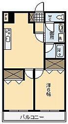 T・SGRANDE 清武[203号室]の間取り