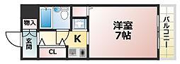メゾン・ド・六甲パート3[5階]の間取り